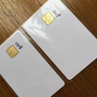 iso karte großhandel-Großhandels- Freies Verschiffen (1000PCS / Lot) SLE4428 Kontakt IC Karte 1K Byte Smart Card ISO 7816