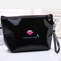 Wholesale Cheap Korean Fashion Free Shipping - PU cosmetic bag practical ladies portable beauty makeup cosmetic bag cheap cosmetic bag MB-19 free shipping!