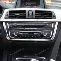 Wholesale Chrome Door Trim - Car Styling ABS Seat belt Cover Decoration Trim Accessories For BMW 3 5 Series F30 F31 F32 F34 GT chrome Stick