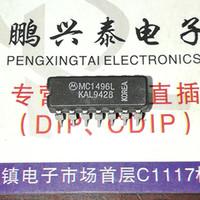 ingrosso componente ics-MC1496L. MC1496, ANALOG MULTIPLIER O DIVIDER Circuiti integrati integrati, doppio contenitore ceramico in linea a 14 pin. Componenti elettronici CDIP14