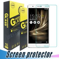 Wholesale Shock Lasers - Tempered Glass Screen Protector 9H 2.5D Anti Shock Clear Film For ASUS 3Max Zenfone3 laser Deluxe 2 Laser Zenfone Go Padfone X Max