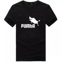 mosca del cerdo al por mayor-PUMBA camiseta de impresión verano hip-hop deportes de manga corta de algodón divertido Flying Pig Print creativo Tops casuales camiseta para hombres