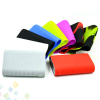Wholesale joyetech cases - Cuboid 200W Silicon Case Joyetech Cuboid 200W Skin Cases Colorful Soft Silicone Sleeve Cover Skin For Cuboid 200 TC Box Mod DHL Free