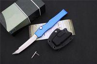 "Wholesale Halo Model - 6 models MT Halo V Tanto Knife 4.6"" Satin 150-1 CNC D2 steel blade Machined aluminum handle Tactical knives"