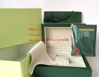 Wholesale Green Brand Watch Original Box Papers Card Purse Gift Boxes Handbag mm mm mm KG For Watches
