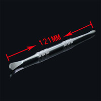 Wholesale Stainless Steel Oem - OEM stainless steel wax tool electronic cigarette metal tool dabber tool titanium dab nail for dry herb vapor ago g5 ccell atomizer