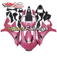 yamaha r1 carenados rosas al por mayor-Inyección de carenados de plástico ABS para Yamaha YZF R1 15 16 YZF-R1 2015 2016 Kit completo para cuerpo de motocicleta Pink Kit
