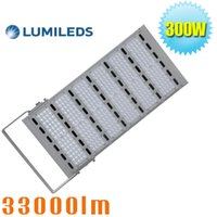 Wholesale Metal Floods - 1500W Metal Halide Equivalent 300W Outdoor LED Flood Light Parking Lot Pole Lights Daylight White 6000K Roadway Floodlight