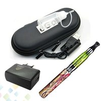 elektronische zigarette ego q batterien großhandel-Beliebte Elektronische Zigarette Ego Q CE4 Einzel Kit mit 650 900 1100 mah Batterie Zerstäuber USB Ladegerät Reißverschluss Fall DHL Frei