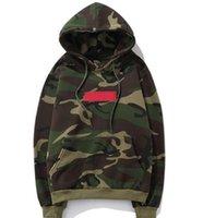 Wholesale Black Hedge - Off White 17SS CDG HOODED SWEATSHIRT Sweatshirt Hip-hop sup men and women hedge kanye west hooded velvet sweater