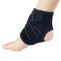 Wholesale Wholesale Nursing Products - Wholesale- 1PCS Ankle Support Brace Product Foot Basketball Football Badminton Anti Sprained Ankles Warm Nursing Care Men Women