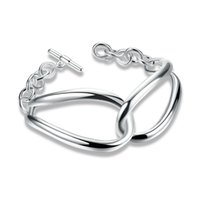 Wholesale European Cat Eye Beads - 2017 Trendy Jewelry Silver Plated Cat Eye Wire Bangle Bracelet for Women