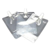 sıvı stand toptan satış-300 ml Stand-up Plastik İçecek Ambalaj Torbası Bacalı Kese Suyu Süt Kahve İçecek Sıvı Ambalaj için çanta