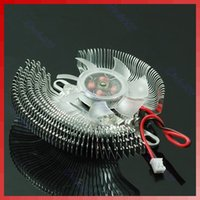 2 Pin Small QQ Компьютерная видеокарта Heatsinks Cooler Cooling Fan
