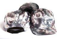 ingrosso cappello di protezione a scatto vuoto-Cool !! Unisex 2017 blank GALAXY 5 panel Cap Snapback cappelli cranio cinque pannelli Berretti da baseball per uomo Snap Back bone aba reta Gorras