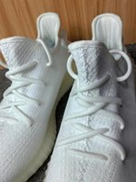 best discount martial art boots - (Box+receipt)New Triple White Zebra Boost Sply 350 V2 White kanye west sneakers Wholesale discount