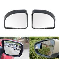 blind spot mirror toptan satış-2 Adet Oto Araba Ayarlanabilir Yan Kör Ayna Dikiz Kör Nokta Dikiz Yardımcı Mirro Ücretsiz Kargo