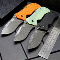 Wholesale Stainless Steel Survival Knife Blade - New Zero Tolerance ZT0350 3 Colors Folding Hunting Knife S30V Stainless Steel Blade Wilderness Survival Self-Defense Knives