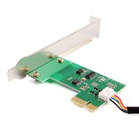 Wholesale Wireless Pci Desktop - Wholesale- 1x 20M PCI-E Desktop Remote Control Wireless Restart Switch Turn On OFF PC #84614