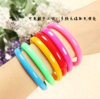 Wholesale Pen Bangles - Flexible Ball Pen Cute Bangle Bracelet Wristlet Circlet Ballpoint Pens School&Office Supplies