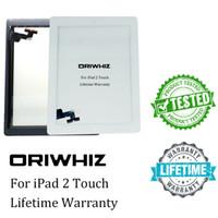 ipad luftaufkleber großhandel-Neue ankunft für ipad 2 3 4 5 air mini 1 2 3 touchscreen digitizer assembly mit hauptknopf und aufkleber