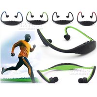 Wholesale Earphone Speaker Headphones - S9 Wireless Headphone Stereo Headset Sports Bluetooth Speaker Neckband Earphone Bluetooth 4.0 With Retail Package 20 Pieces UP DHL