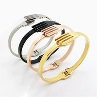 Wholesale Unique Tools Gifts - Wholesale- Unique Fork Tableware Shape Bracelet Bangles Tool Stainless Steel Punk Rock Retro Cuff Bangle Bracelet Jewelry For Women and M