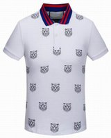 Wholesale Boys Designer Shorts - 2016 Brand Mens Casual Shirt Boys Luxury Designer Sumerm Classic Cotton Shirts Vintage Sports Shirt Tops Tees Leisure Polo T-Shirt M-XXL