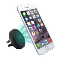 Wholesale Car Charger Holder For Iphone - Car phone holder Air Vent holder Magnetic Universal Car Mount phone stand for iPhone 6 6S Reinforced Magnet Easier Safer Driving