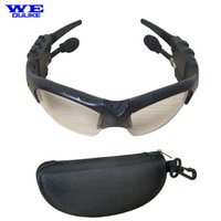 Wholesale Wholesale Eye Talk - Wholesale- 2016 Fashion Wireless Stereo Bluetooth Handfree Sunglasses Talk Music Eyes Glasses Headset Headphone For Cellphone