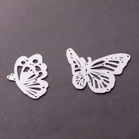 Wholesale Metal Die - Cutting Dies DIY Carbon Metal Cutting Dies 5 Styles To Choose Love Bottle Butterfly Snowflake Decoration Metal Template Molds-Butterfly