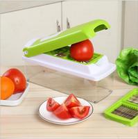 Wholesale Slicer Plus - Vegetable Fruit Nicer Slicer Dicer Plus Chopper Cutter Peeler Vegetable Fruit Graters Peeler Cutter Chopper Slicer Cutting Kitchen Tool 2877