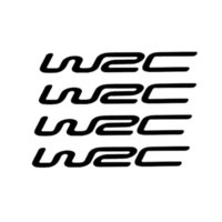 Wholesale Wrc Car Stickers - WRC passionate door handel sticker car decal decal of reflective material