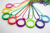 Wholesale Colored Stainless Steel Pendants - Free Matching Colored Chain!! 30mm Magnetic Closure Acrylic Floating Charm Locket Living Locket plain face