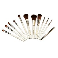 Wholesale Top Hair Tools Wholesale - New Arrival Kylie Makeup Brushes Makeup Brush 12pcs set Foundation Blush Powder Makeup Tools Top Quality Free DHL