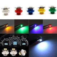 Wholesale Led Auto Dash Bulb - White B8.4D 5050 1-SMD Dash Auto Side Dash Gauge car instrument lights led Lights Bulbs