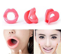 Wholesale Face Tightener - Bestnewcom Silicone Rubber Face Slimmer Exerciser Lip Trainer Oral Mouth Muscle Tightener Anti Aging Wrinkle Chin Massager