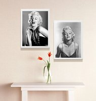 Wholesale marilyn monroe oil canvas - Single Unframed Marilyn Monroe Famous Actress Figure Painting Oil Painting On Canvas Giclee Wall Art Painting Art Picture For Home Decorr