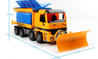 Wholesale Toy Sailboats - Snow sweeper the toy truck simulation model for the children's toy inertia truck new kids toy