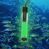 Wholesale Led Boat Fishing Light - 12V LED Green Underwater Submersible Boat Night Fishing Fish Light Crappie Squid