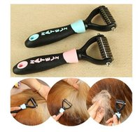 Cache-chien Grooming Décapant Brush Pet Comb Trimmer