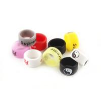 Wholesale Colorful Slips - New Arrival Colorful Vape Bands Anti Slip Silicon Band for 22mm RDA RBA RDTA Sub Ohm Tanks 2269005
