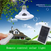 Wholesale Gazebo Lights - Wholesale- Multi-functional Solar Lamp Super Bright 22 LED Dimmable Night light with Remote Controller for Patio Garage Gazebo Hallway Roof