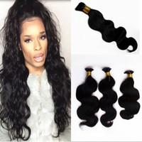 Wholesale human hair attachment for braids online - Malaysian Human Hair Bulk No Attachment Body Wave Bundles Unprocessed Bulk Human Hair for Braiding FDSHINE
