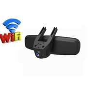 Wholesale Car Rearview Mirror Wireless Camera - Car DVR Camera Video Recorder Universal DVRs Dashcam Novatek 96658 Wireless WiFi APP Manipulation Full HD 1080p Dash Cam