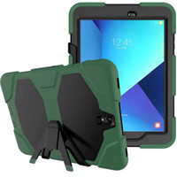 Wholesale S2 Cover Yellow - Armor Kickstand Case Funda For Samsung Galaxy Tab S2 8.0 T710 T715 Case Cover Tablet Shockproof Heavy Duty With Stand Hang Shell