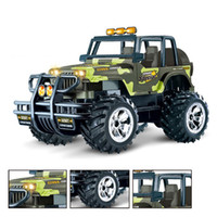 Wholesale Baja Remote Controlled Car - 1 14 Scale Control Remote 2WD RC Car Electric Rock Racer Desert Off-Road Truck baja with 2.4GHz Radio System RTR