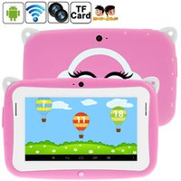 Wholesale Children Tablets China - 4.3 inch Children Kids Educational Mini Tablets PC RK2926 ARM Cortex-A9 Dual Core 512MB 4GB 1.0GHz R430C AQ1