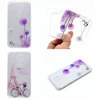 Wholesale Nexus Butterfly - Flower Soft TPU Case For LG X Power Nexus 5X K10 M2 K7 M1 Xiaomi 5S Plus Redmi NOTE4 3 Pro Butterfly Tower Feather Henna Mandala Skin Cover