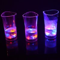 Night Club LED piscando óculos LED Luminous Sensor Cup para festa de aniversário Holiday Wedding Club Halloween Chirstmas Presente S201743